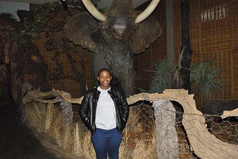 Tsitsi Maponga Mammalogy Curator